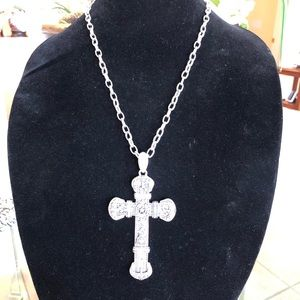 Cowboy inspired Cross Necklace